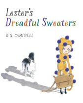 Cover artwork from Lester's Dreadful Sweaters by K. G. Campbell.