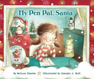 My Pen Pal, Santa cover art by Jennifer A. Bell