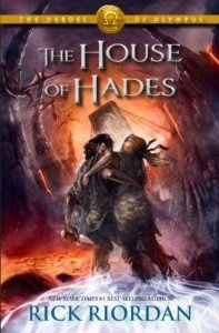 Cover art for Rick Riordan's The House of Hades