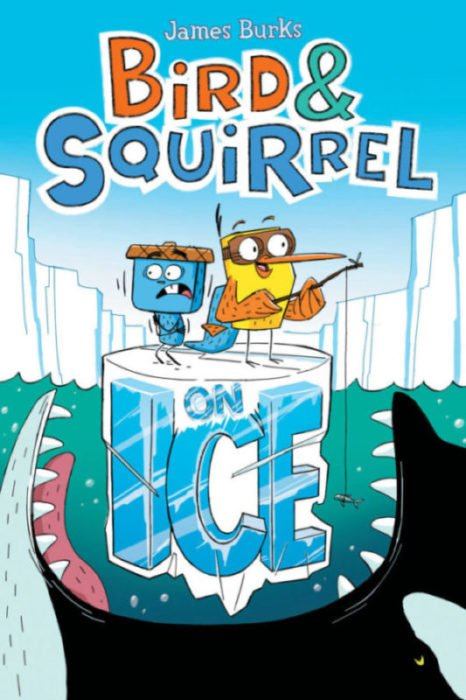 Bird & Squirrel on Ice cover