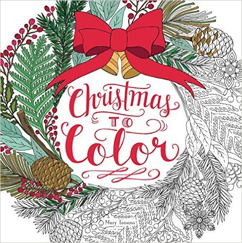 Coloring Books To Brighten Everyone's Christmas