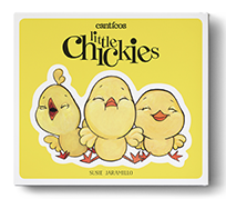 Canticos: Little Chickies Los Pollitos book cover
