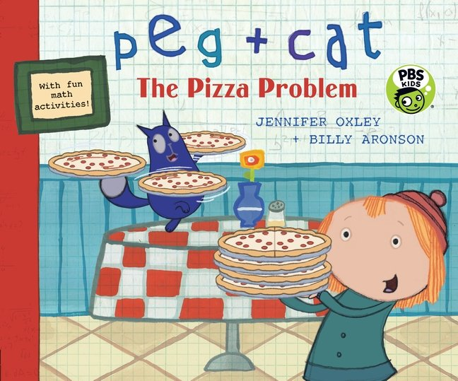 Peg and Cat: The Pizza Problem book cover