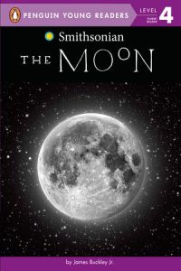 Smithsonian The Moon Level 4 Reader book cover