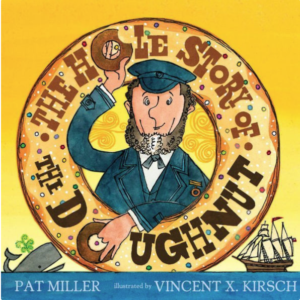 The Hole Story of The Doughnut by Pat Miller book cover