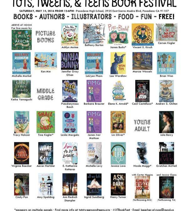 Tots, Tweens, and Teens Book Festival in Pasadena