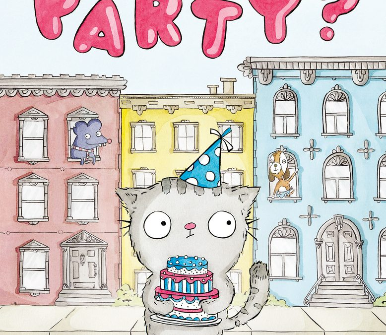 Where's the Party written and illustrated by Ruth Chan