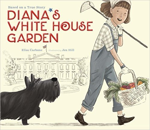 Diana's White House Garden book cover