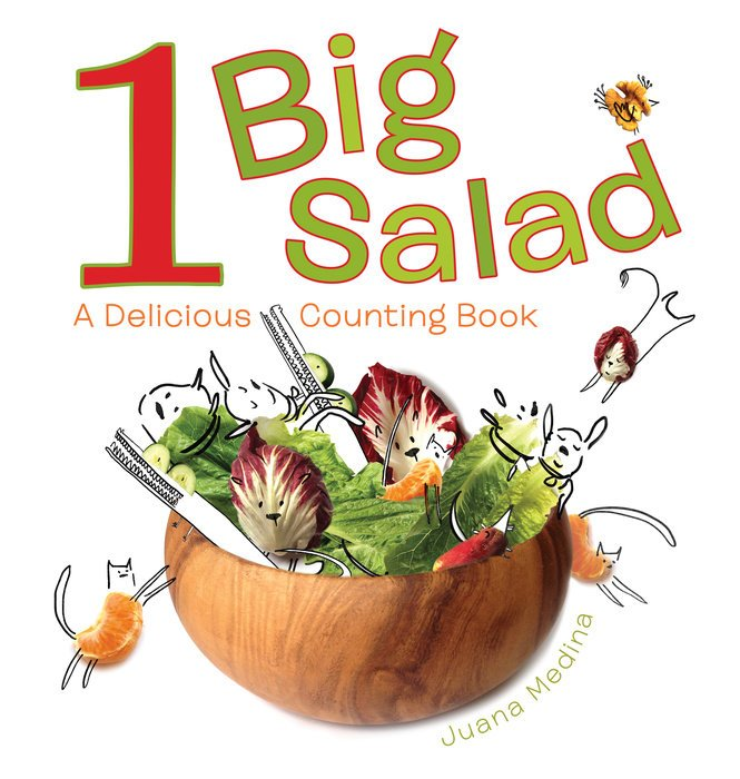 One_Big_Salad picture book cover
