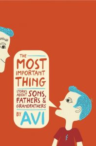 The_Most_Important_Thing by Avi book cover