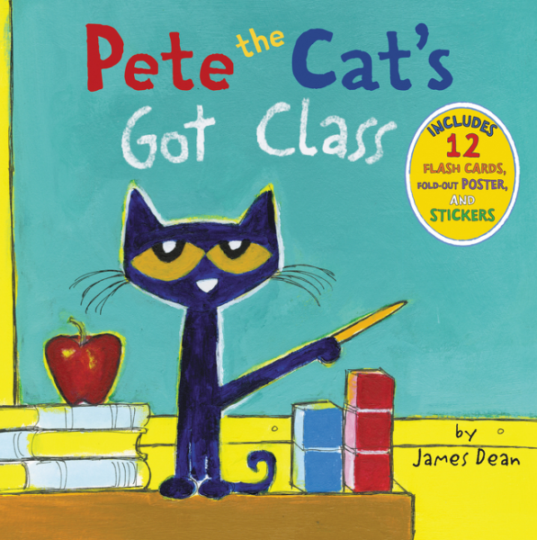 Pete the Cat's Got Class by James Dean book cover