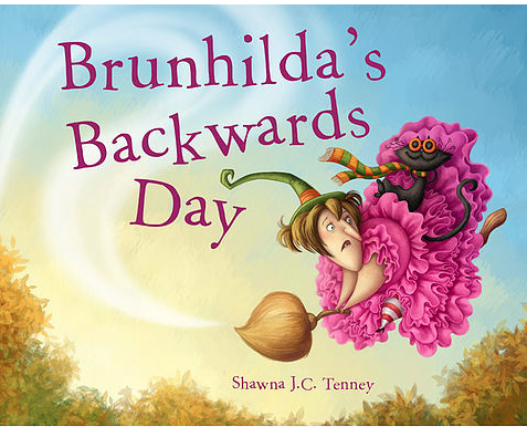 Brunhilda's backwards day book cover