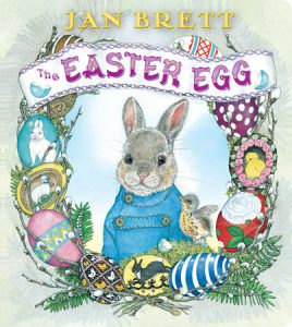 cover image of Jan Brett's The Easter Egg