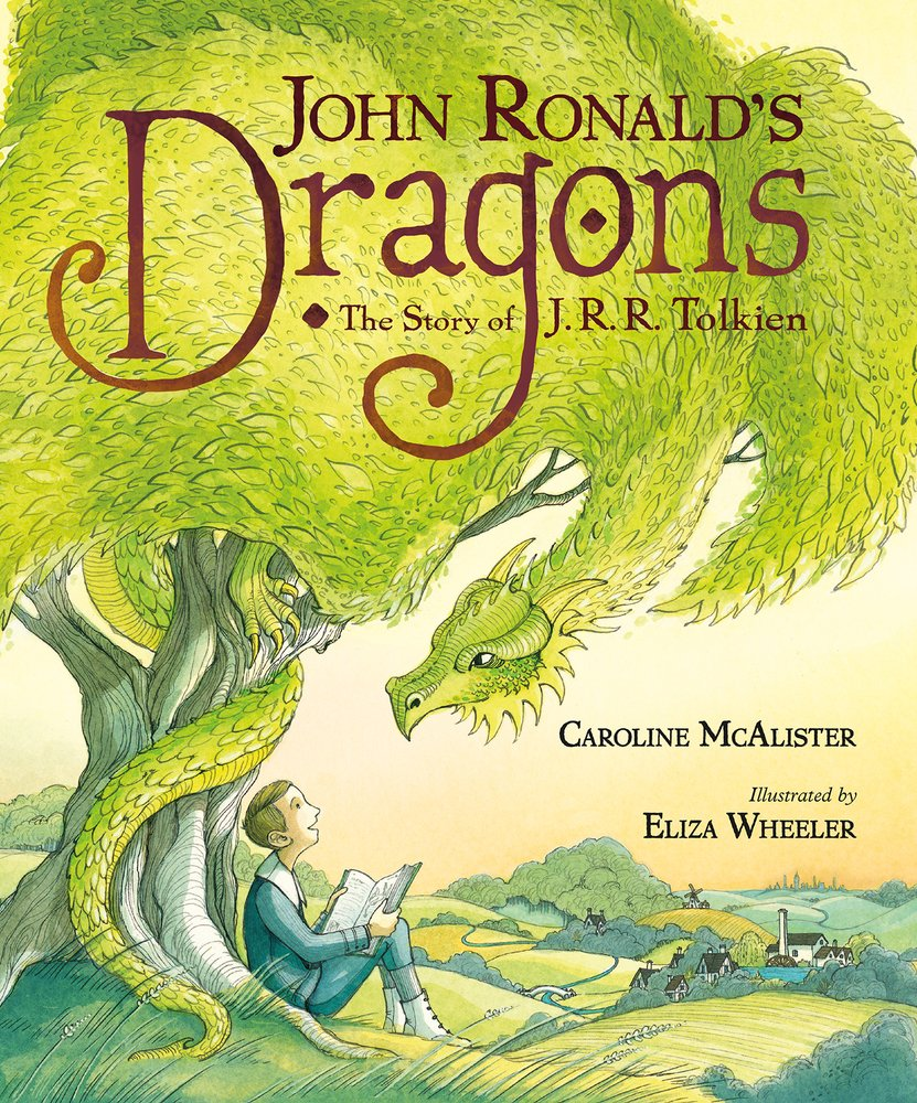John Ronald's Dragons: The Story of J.R.R. Tolkien cover art