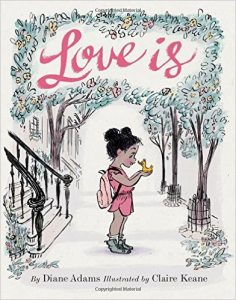 Cover image for Love is by Diane Adams