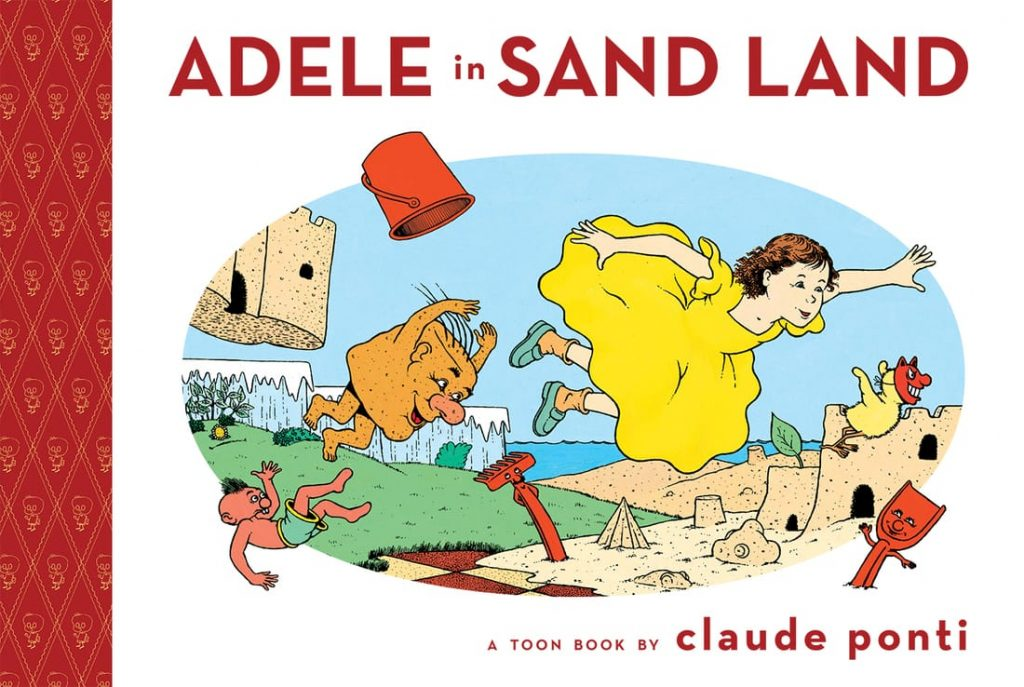 Adele in Sand Land by Claude Ponti cvr