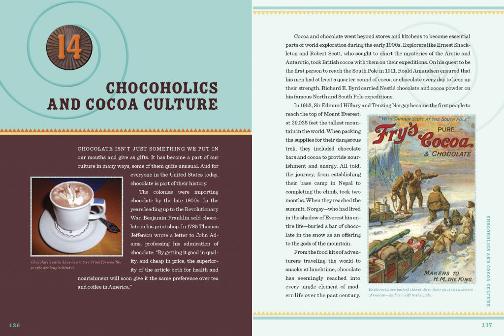 Interior image of Chapter 14 from HP Newquist's The Book of Chocolate
