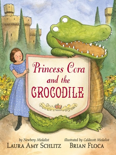 Princess Cora and the Crocodile by Laura Amy Schlitz cvr image