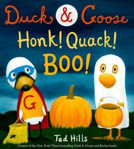 Tad Hills' Duck & Goose, Honk! Quack! Boo! cvr image