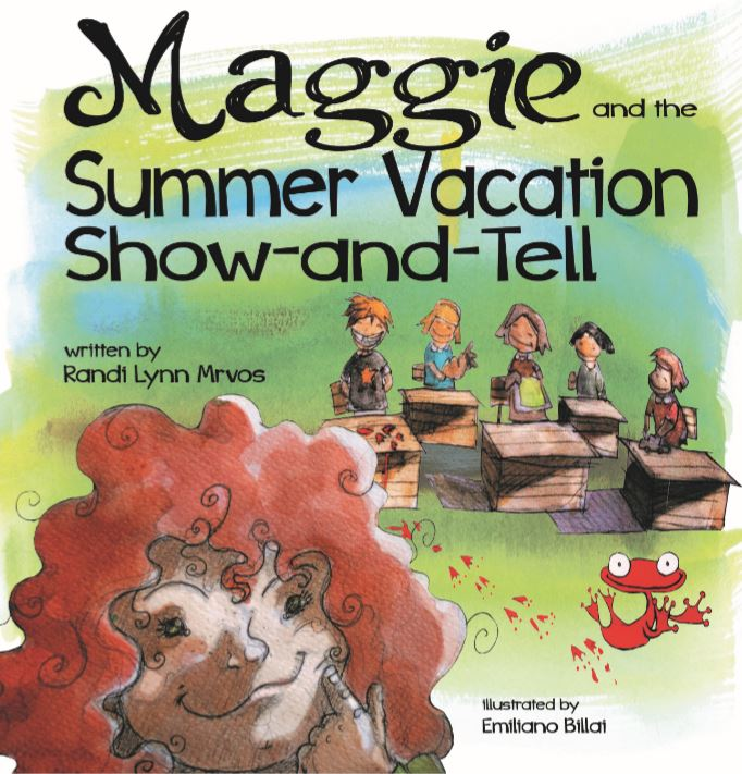 Cover image from Maggie and the Summer Vacation Show-and-Tell