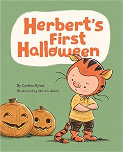 Herbert's First Halloween book cover image
