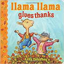 Llama Llama Gives Thanks cover image
