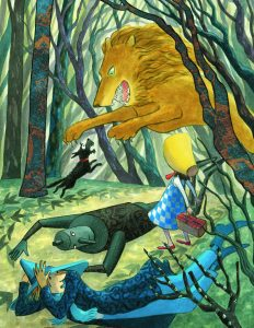 Int image Lion Toto: The Dog-Gone Amazing Story of The Wizard of Oz
