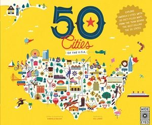 50 Cities of the U.S.A. cover art