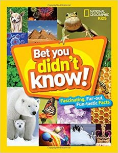 Bet You Didn't Know from NatGeoKids Cover Image
