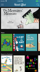 Novel Effect Story Time App Book Choices image