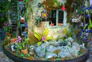 interior photograph of fairy house from The Faerie Handbook