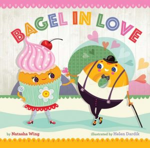 Cover image Bagel in Love by Natasha Wing