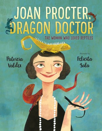 Cover illustration from Joan Procter, Dragon Doctor