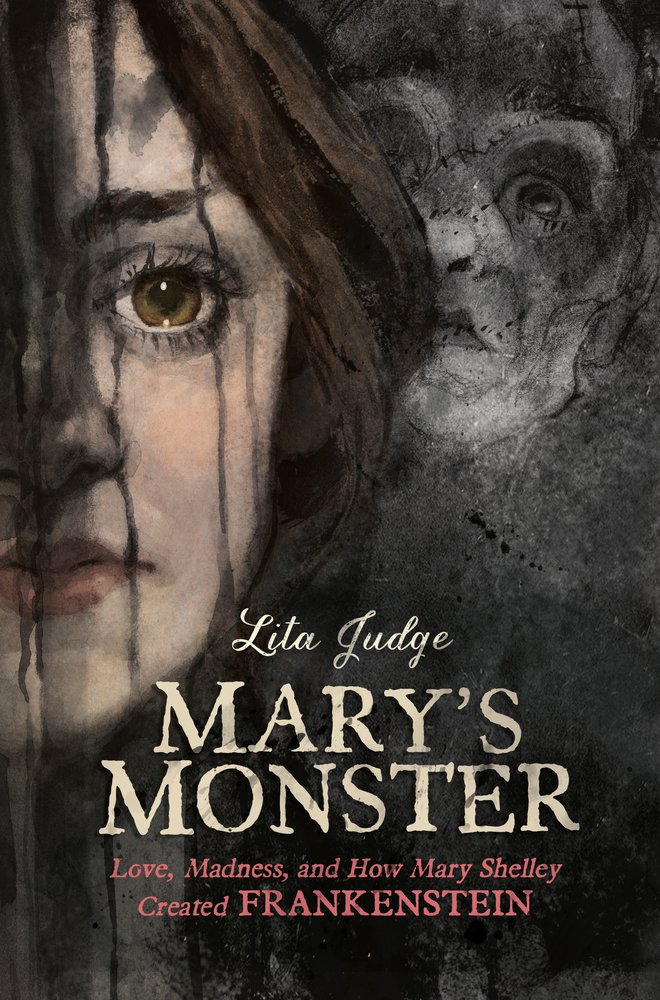 cover illustration from Lita Judge's Mary's Monster graphic novel