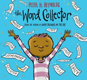 Cover artwork for The Word Collector by Peter H. Reynolds