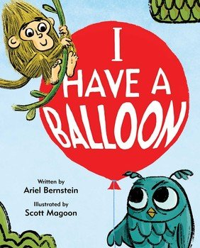 I Have a Balloon cover illustration