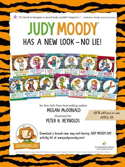 Judy Moody Has a New Look - No Lie!