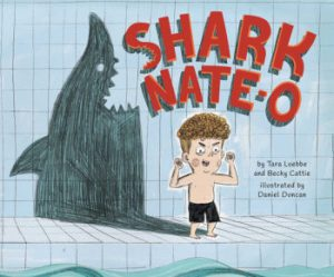 Cover image from Shark Nate-O by Tara Luebbe and Becky Cattie