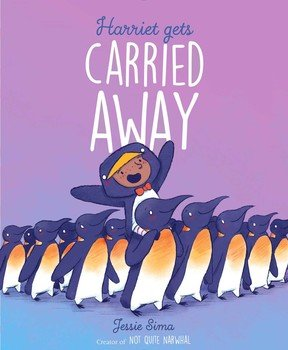 Cover image from Harriet Gets Carried Away by Jessie Sima