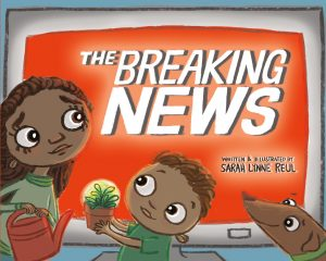 The Breaking News cover illustration