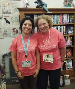 Once Upon a Time mom and daughter booksellers Maureen and Jessica Palacios