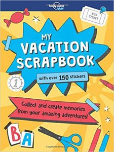 My Vacation Scrapbook book cover from Lonely Planet Kids