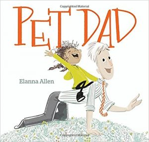 Pet Dad cover illustration by Elanna Allen