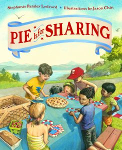 Pie is for Sharing cover illustration
