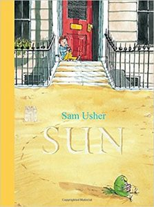 cover art from Sun by Sam Usher Templar Books