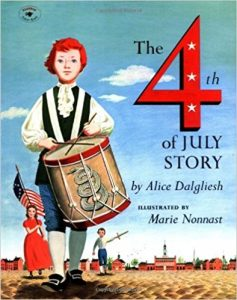 The 4th of July Story cover illustration