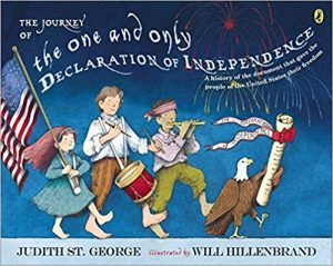 cover illustration from The One and Only Declaration of Independence