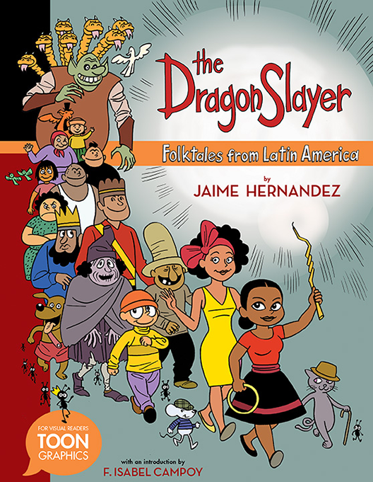 The Dragon Slayer: Folktales From Latin America cover illustration