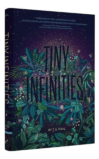 cover illustration from Tiny Infinities by J. H. Diehl