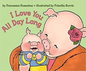 I Love You All Day Long book cover art